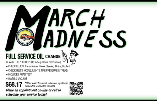 March Madness -